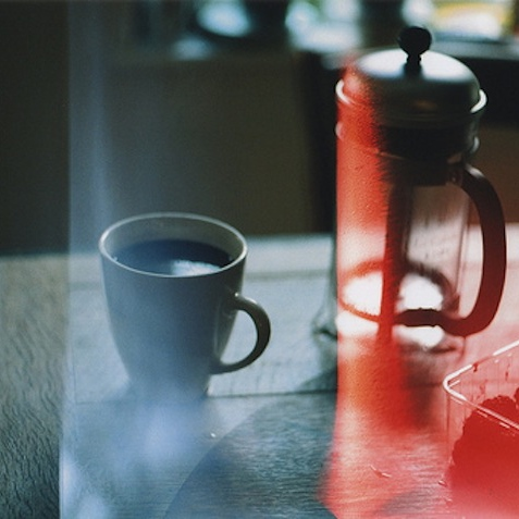 Slow Rainy Morning with Coffee