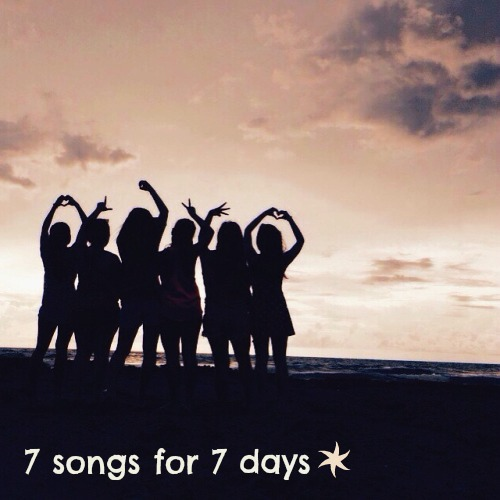 7 songs for 7 days