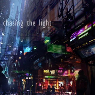 chasing the light • jacen + lyric