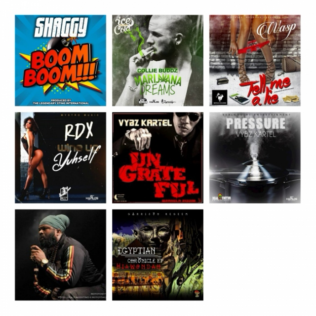 #DANCEHALL #REGGAE UPDATE July 6 2015 By Kamran Hadiyev