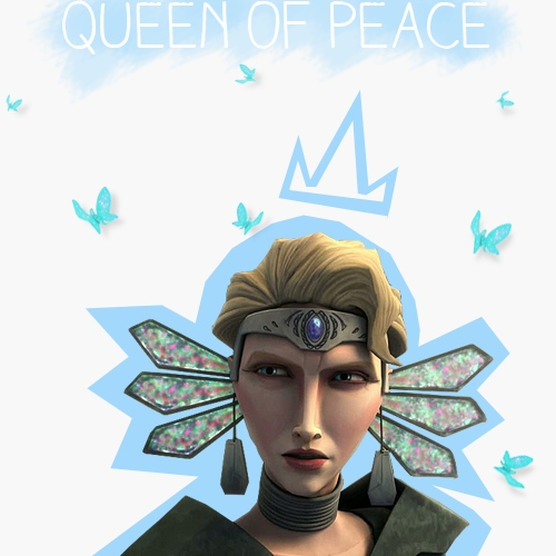 oh the queen of peace ♔