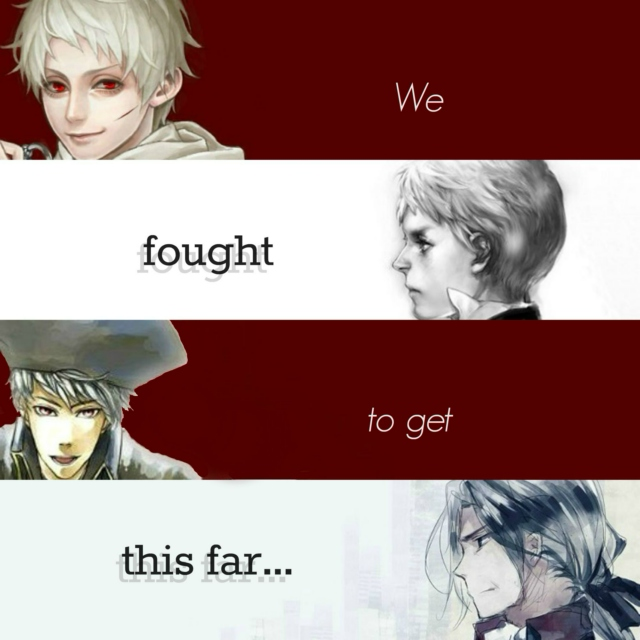 We Fought To Get This Far...