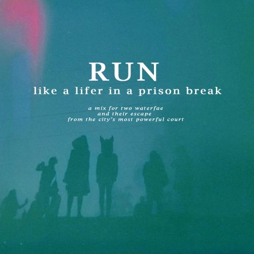 run like a lifer in a prison break