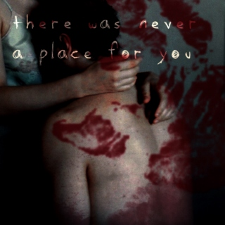 there was never a place for you