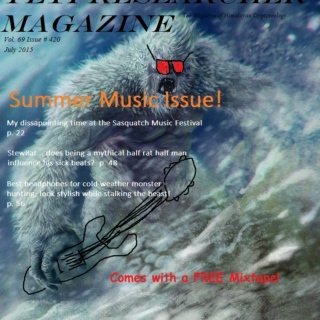 Yeti Researcher Magazine Summer Music Issue Mix SIDE B