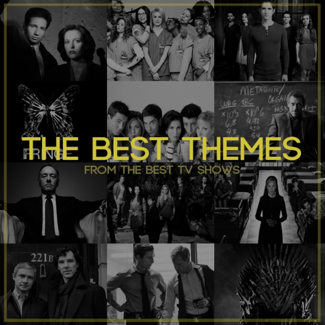The best themes from the best TV shows