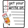 get your write on