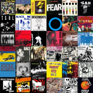 Hollywood Punk Playground - 36 Best Punk Albums Of All Time - 80's