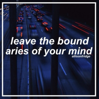 leave the boundaries of your mind