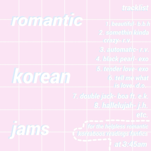 romantic korean jams