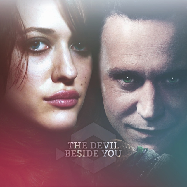 the devil beside you