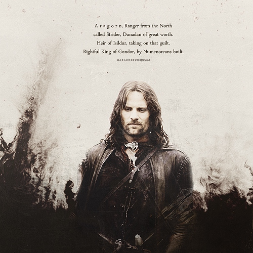 rightful king of Gondor