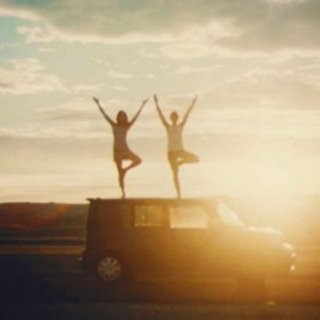 Friends + the Road