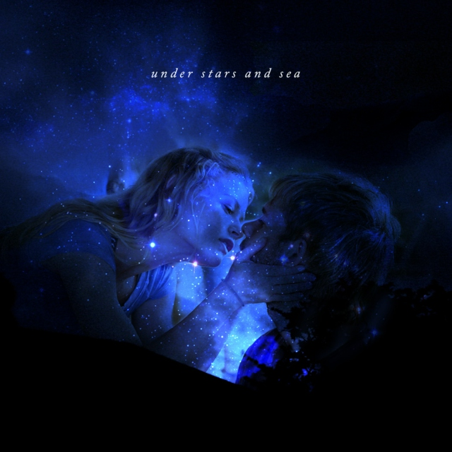 under stars and sea | charlie and claire