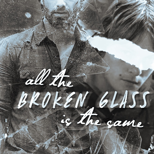 all the broken glass is the same [rickyl]
