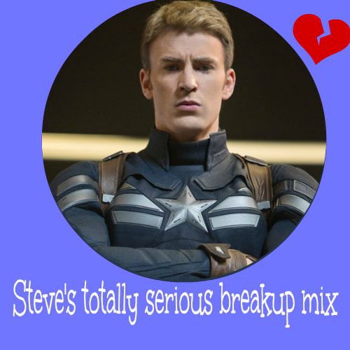 Steve's totally serious breakup mix