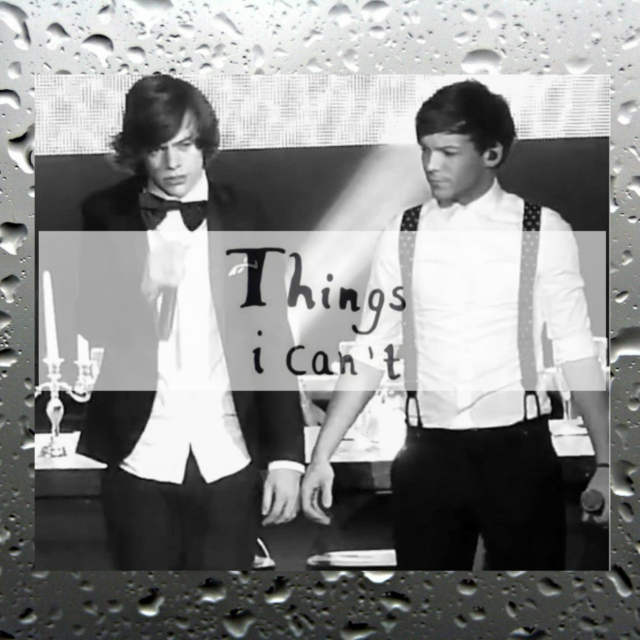things i can't