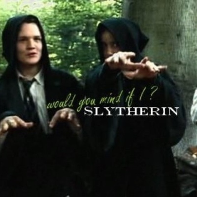 Would you mind if I slytherin?