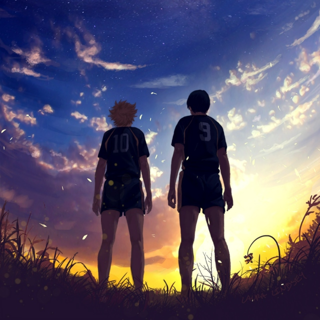 on top of the world - a kagehina playlist