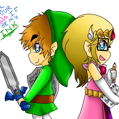 I'll be your 'Zelda' if you be my 'Link'!