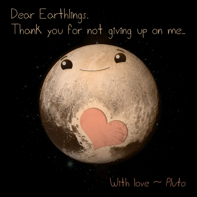 Love from Pluto
