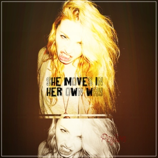 she moves in her own way