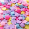 star-shaped sprinkles