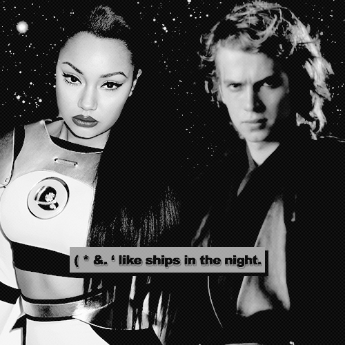 like ships in the night.