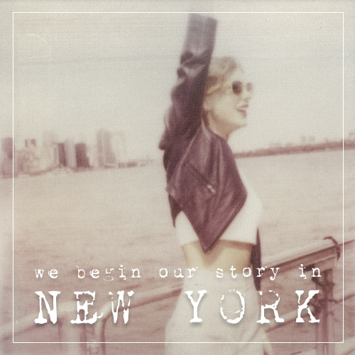 we begin our story in new york
