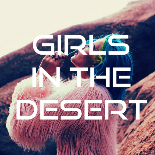 girls in the desert