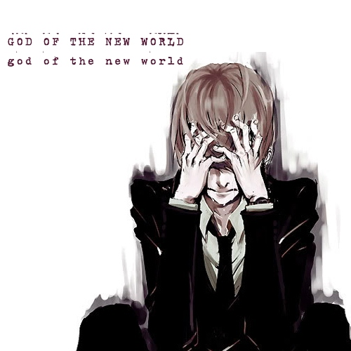 god of the new world (the hypocrite is the one who is rotten to the core) / only a mass murderer