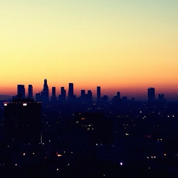 Sunsets and City Lights