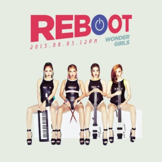 "WONDER GIRLS The 3rd Album ""Reboot"""