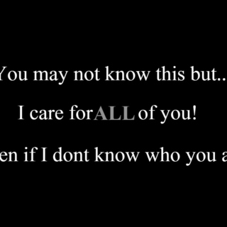 Care about...
