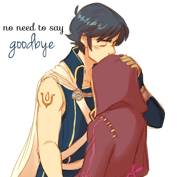 no need to say goodbye