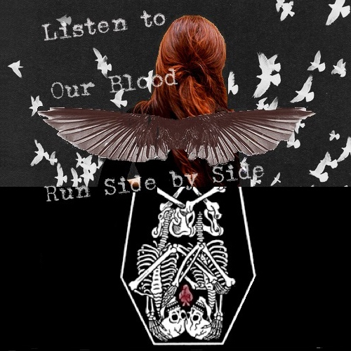 Listen to Our Blood Run Side by Side
