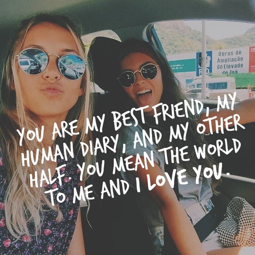 dear best friend, this one's for you