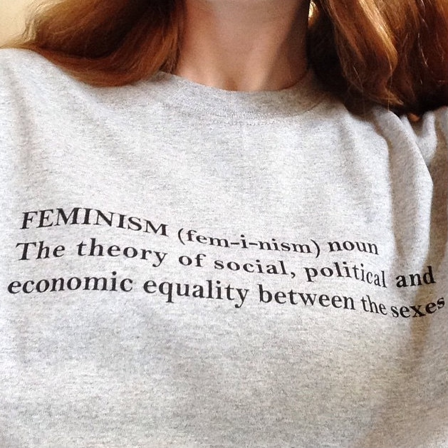 it's just, like, the rules of feminism!