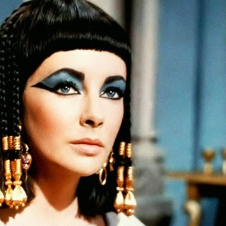 """with the face of cleopatra,"""