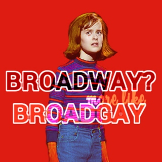 broadway? more like broadgay