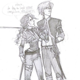 The traitor prince and the lightening girl