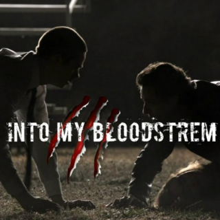into my bloodstream