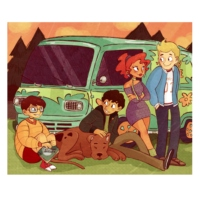 MYSTERY INCORPORATED (on the road)