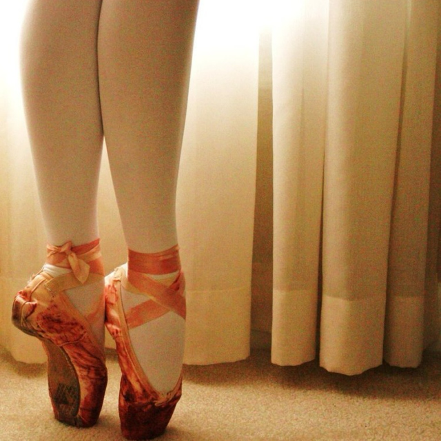 Blood on my Pointe Shoes