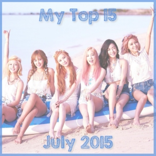 My Top 15 Kpop Songs: July 2015