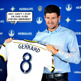 why can't i stop crying over steven gerrard?