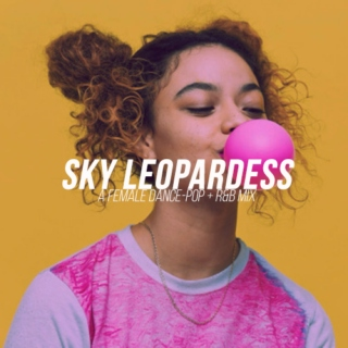 sky leopardess
