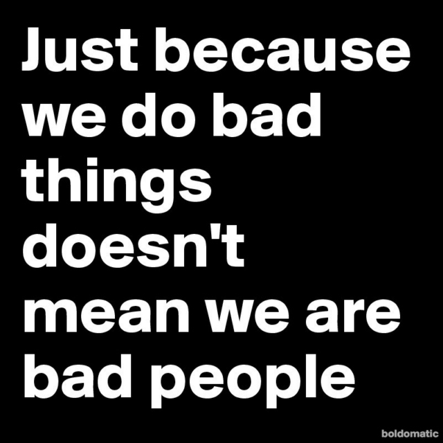 About Bad People, For Bad People