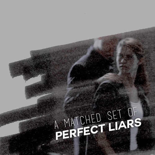 a matched set of perfect liars