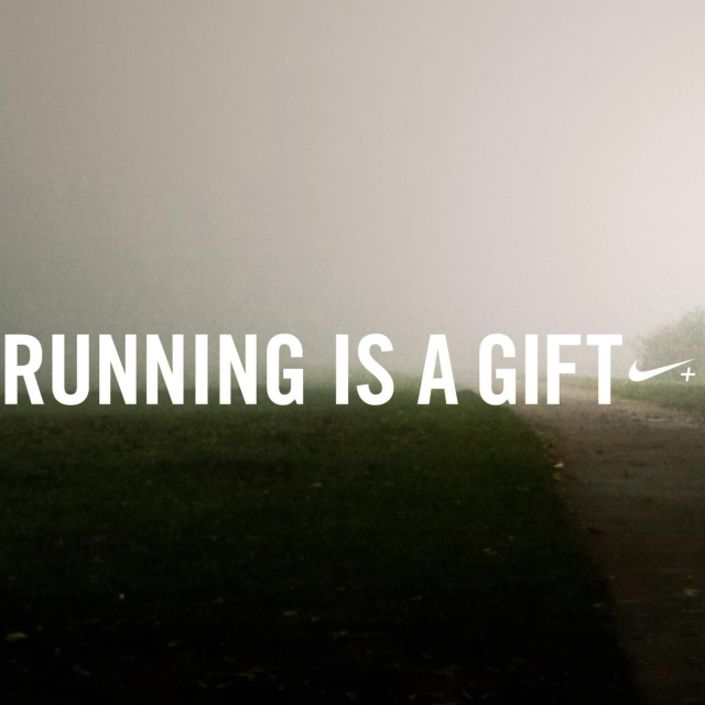 Running is a Gift.